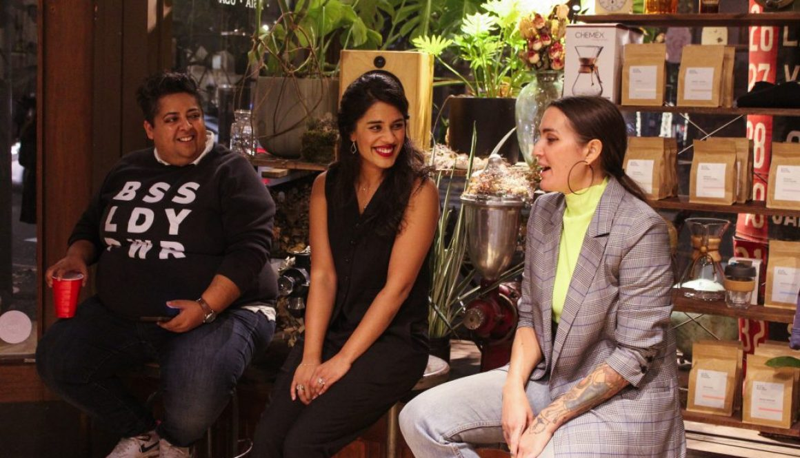 To kick off our partnership with Wildfang, we hosted a panel with the boss ladies behind the brands: Ambika Singh and Taralyn Thuot.
