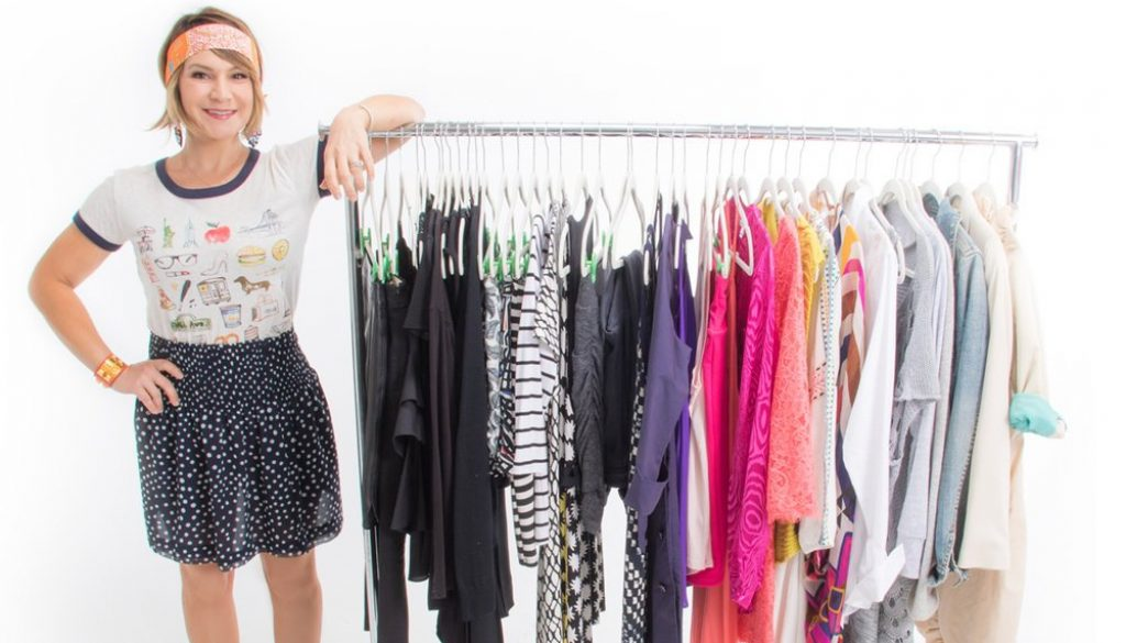Stylist and founder of Tiny Closet, Tons of Style, Jenn Mapp Bressan shares her tips on creating a work capsule wardrobe using Armoire.