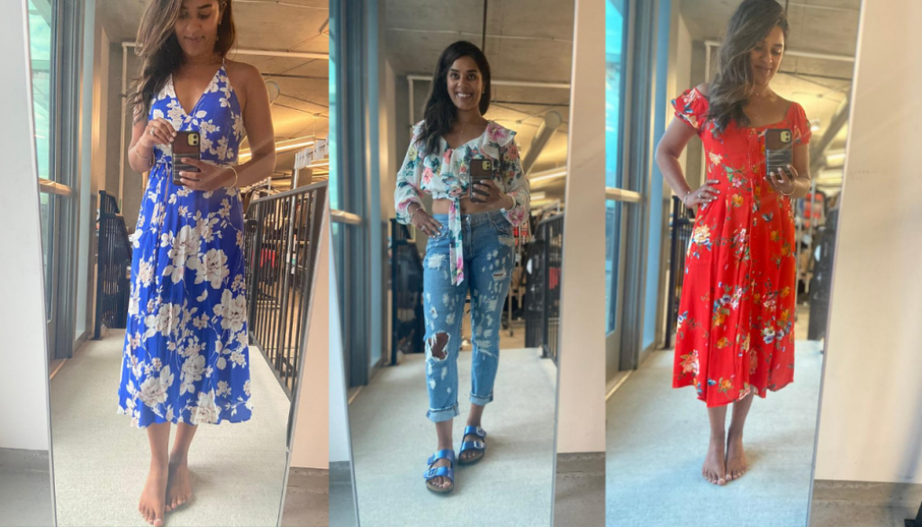 floral summer styles